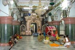 Palki prepared for Ramnath Dev at the Shanteri Kamakshi Devasthan, Goa
