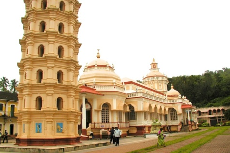 Photos of the Mangeshi Temple in Goa by Arun Shanbhag