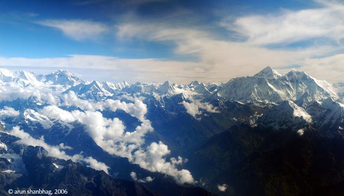 pics of Sagarmatha Mount Everest by Arun Shanbhag