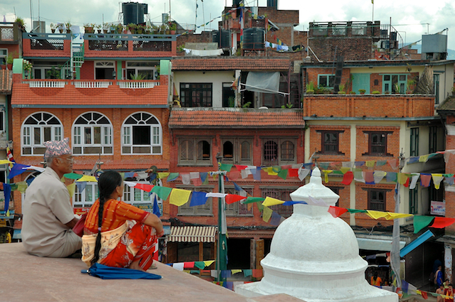 photos of Baudhanath Stupa Kathmandu Nepal by Arun Shanbhag