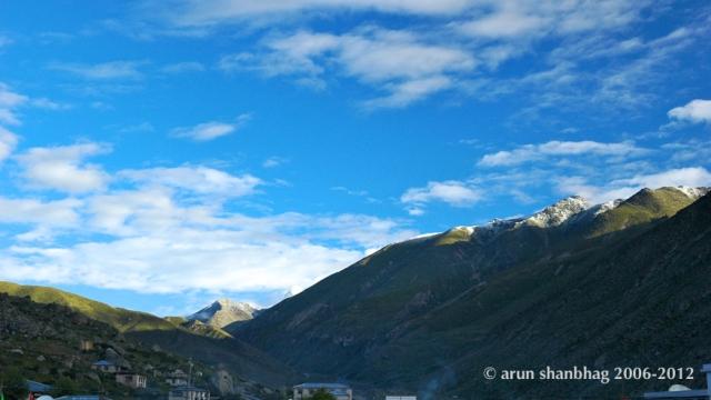 Kailash Manasarovar Yatra to Tibet, Respite in Nyalam, written and pics by Arun Shanbhag