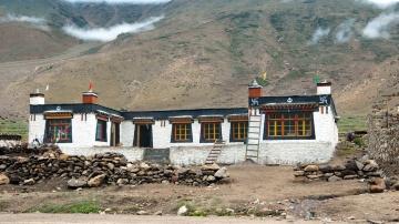 photos of Newly built traditional tibetan home Kailash Manasarovar by Arun Shanbhag