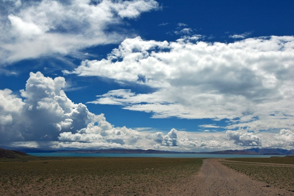 Lake Manasarovar Tibet by Arun Shanbhag