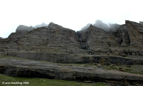 pics of mountains ringing Kailash by Arun Shanbhag