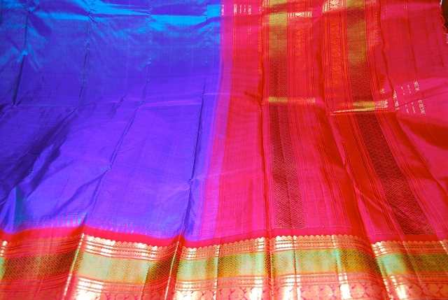 Photos of Kancheevaram sarees from Nalli Sarees Chennai by Arun Shanbhag