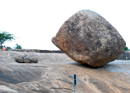 Krishna's butter ball at Mamallapuram Arun Shanbhag