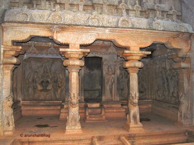 Pallava art Varaha Mandap at Mamallapuram by Arun Shanbhag