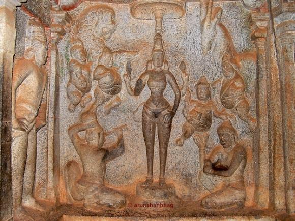 Adoration of Devi, Varaha Cave Mamallapuram Arun Shanbhag