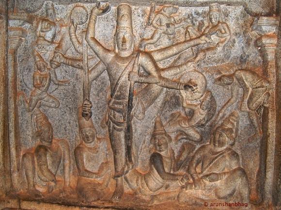 Trivikrama (Vamana) avataar of Shri Vishnu, Varaha Cave Mamallapuram Arun Shanbhag