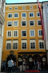 Picture of Mozart's Birthplace in Salzburg Austria by Arun Shanbhag