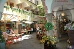 Picture of Courtyard Cafe in Salzburg Austria by Arun Shanbhag