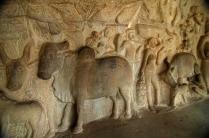 photos of Pallava Krishna Mandap in Mamallapuram by Arun Shanbhag