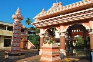 photos of Mahalakshmi Temple in Goa by Arun Shanbhag