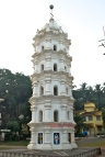Picture of Lamp Tower at Ramnathi Devasthan, Goa by Arun Shanbhag