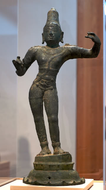 photo of 13th century Chola Bronze at Arthur Sackler Museum, Harvard by Arun Shanbhag