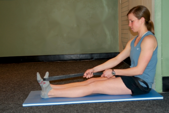 very effective and simple stretches for heel pain plantar fasciitis by Julie Schlenkerman and Arun Shanbhag