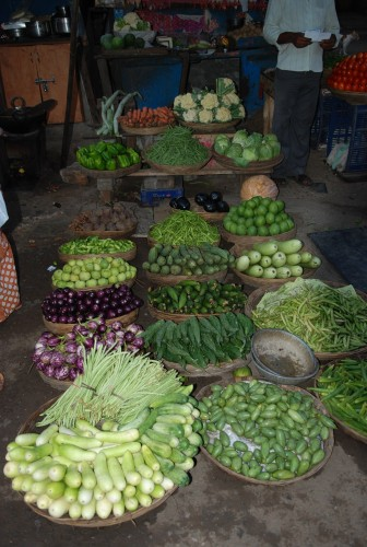 Greens at the Colaba Vegetable Market