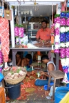 Flower Sellers at the Matunga Flower Market by Arun Shanbhag