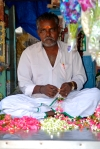 Flower Seller at the Matunga Market, Mumbai by Arun Shanbhag