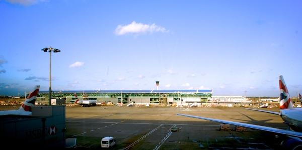 London Heathrow Terminal 5 by Arun Shanbhag