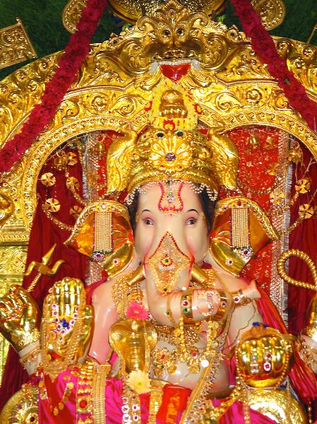 Ganapati at GSB Wadala by Arun Shanbhag