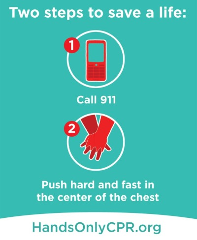 post on Hand only CPR on Arun Shanbhag