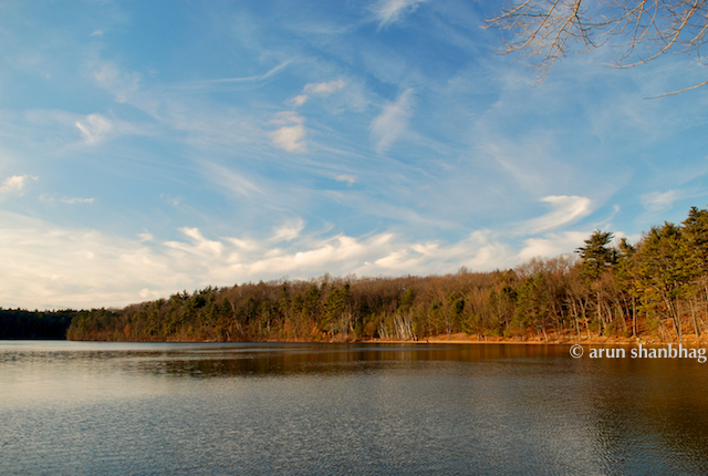 On Walden Pond pics by Arun Shanbhag