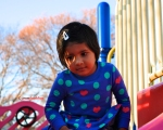 Pics of Meera playing in the Park, Boston by Arun Shanbhag