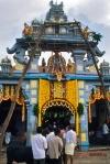 Pics of Gopuram at Udupi Shri Krishna Muth during Krishna Janmashtami Gokulashtami by Arun Shanbhag