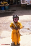 Pics Kid in Tiger make-up at Udupi Shri Krishna Muth during Krishna Janmashtami Gokulashtami by Arun Shanbhag