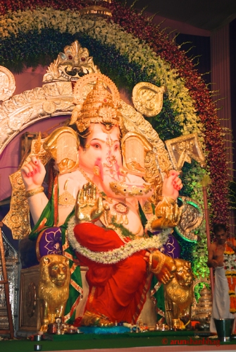pictures from Ganapati at the GSB Seva Mandal by Arun Shanbhag