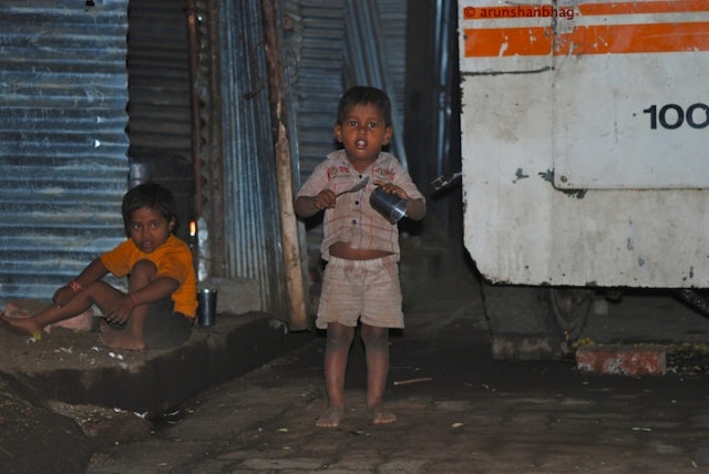 Pics of street kids in Mumbai by Arun Shanbhag
