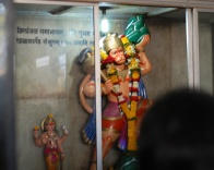 pics of Hanuman from the Shanishingnapur temple for Saturn by Arun Shanbhag