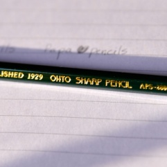 pics of Zebra pencils and Ohto Sharp Pencils by Arun Shanbhag