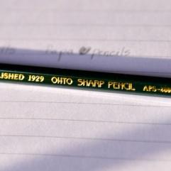 pics of Zebra pencils and Ohto Sharp Pencils by Arun Shanbhag