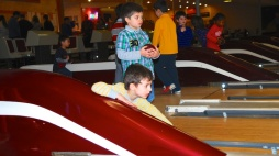 Pics of Meera and friends at Lanes and Games in Boston by Arun Shanbhag