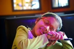 photos of Meera at a Sushi Restaurant in Boston by Arun Shanbhag