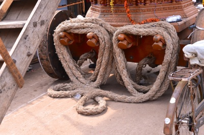 Photos of the ratha at Shri Krishna Muth, Udupi, Karnataka by Arun Shanbhag