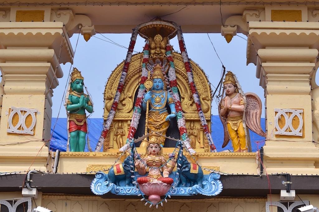 Photos of Main Gopuram of the Shri Krishna Muth, Udupi, Karnataka by Arun Shanbhag