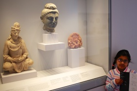 pictures of Buddha bust from the Harvard Art Museum Cambridge by Arun Shanbhag