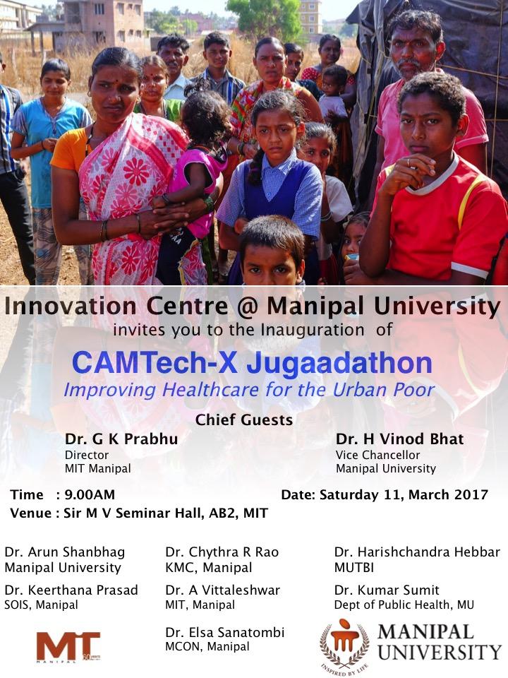 "Healthcare hackathon ""arun shanbhag"" Manipal MU"