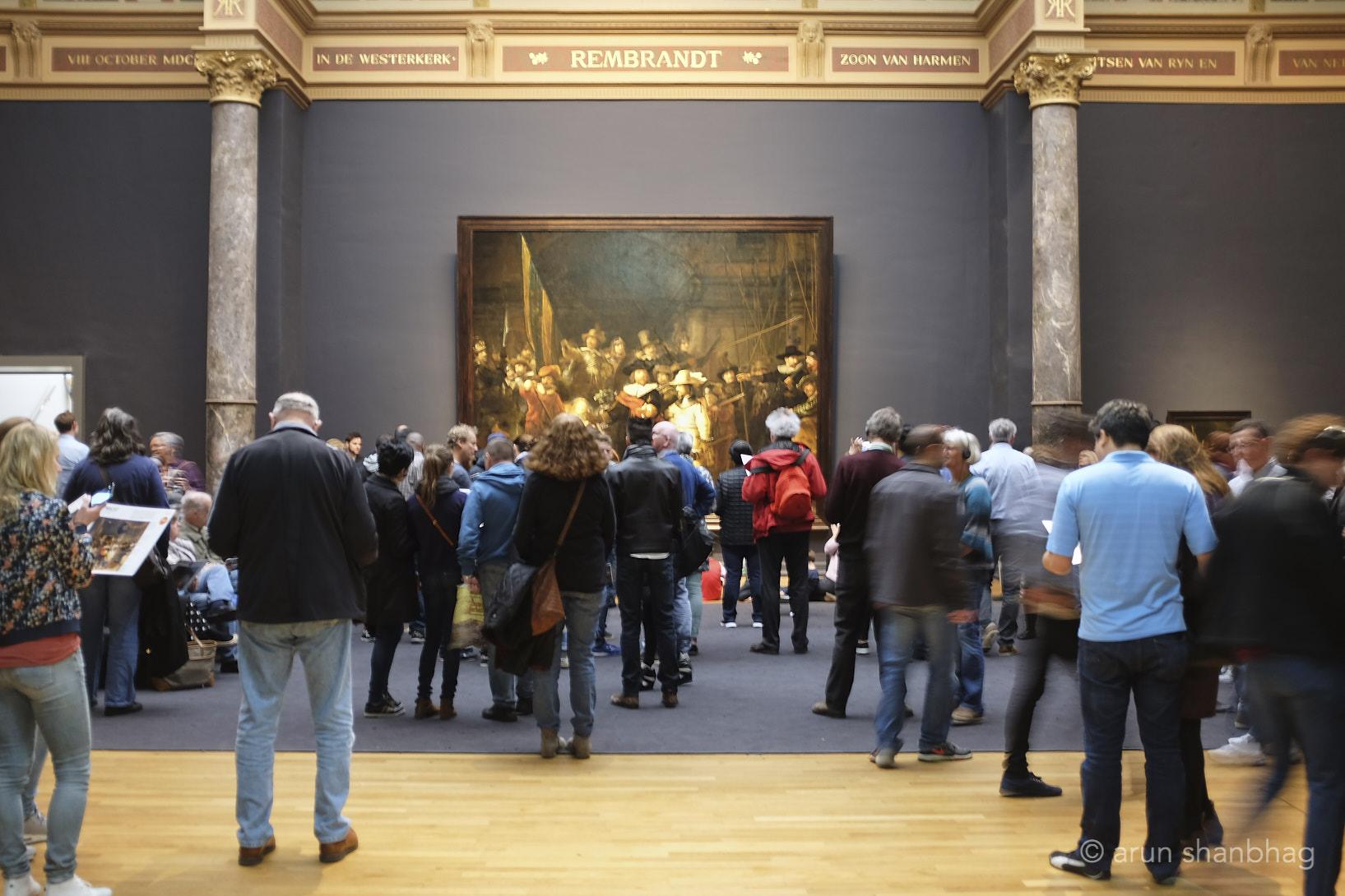 Rembrandt's Night Watch at Rijksmuseum Netherlands by Arun Shanbhag