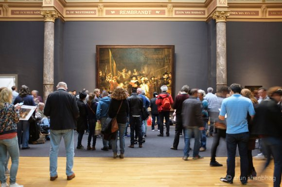Rembrandt's Night Watch at Rijksmuseum Netherlands by Arun Shanbhag