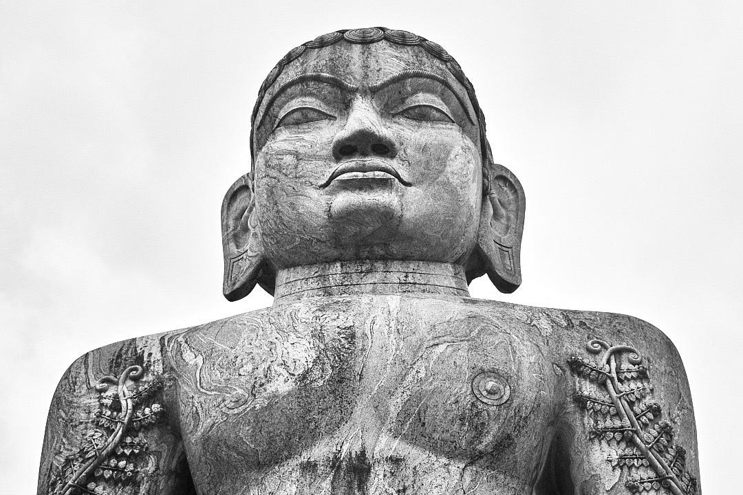 Pic of Gomateshwara at Dharmasthala by Arun Shanbhag